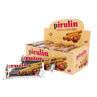 chocolate pirulin estuche 16gr 3und