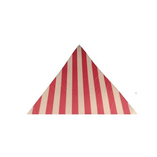banderines rosado rayas para decorar