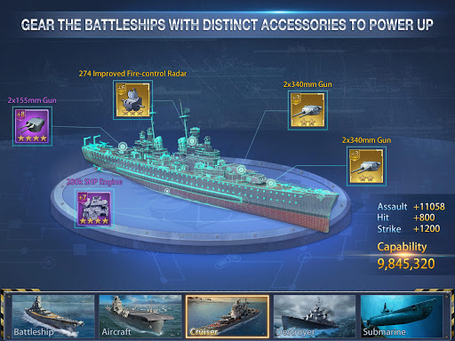 Battleship Empire: WW2 Naval Battles and Warships 1.0.2 gameplay   by HackJr.Pw 3