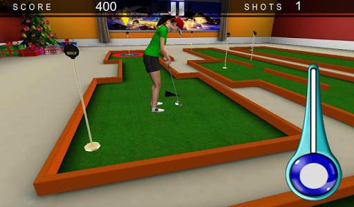 女孩的高尔夫