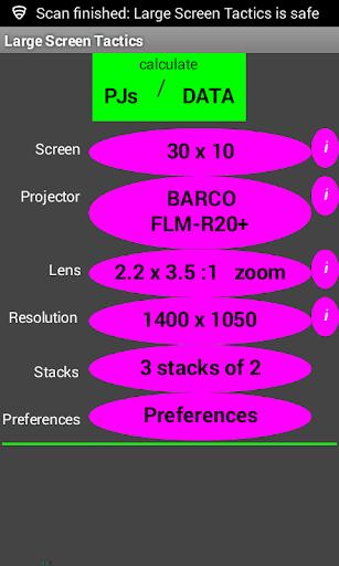 Large Screen Tactics