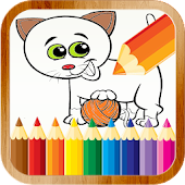 Coloring book for kids: Animal