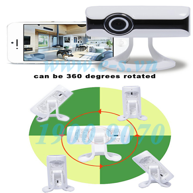 Camera kết nối wifi-IP ES-CM01