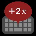 Mathematical keyboard B icon