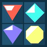 Flat Jewels Match 3 Icon