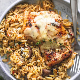 Slow Cooker Parmesan Herb Chicken & Orzo