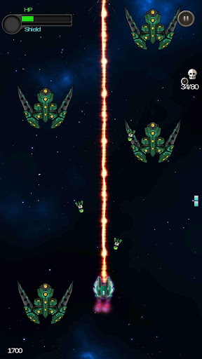Space Shooter - Galactic War  captures d'écran 3