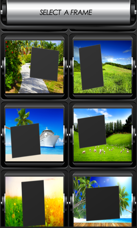 nature photo frames android apps on google play. Black Bedroom Furniture Sets. Home Design Ideas