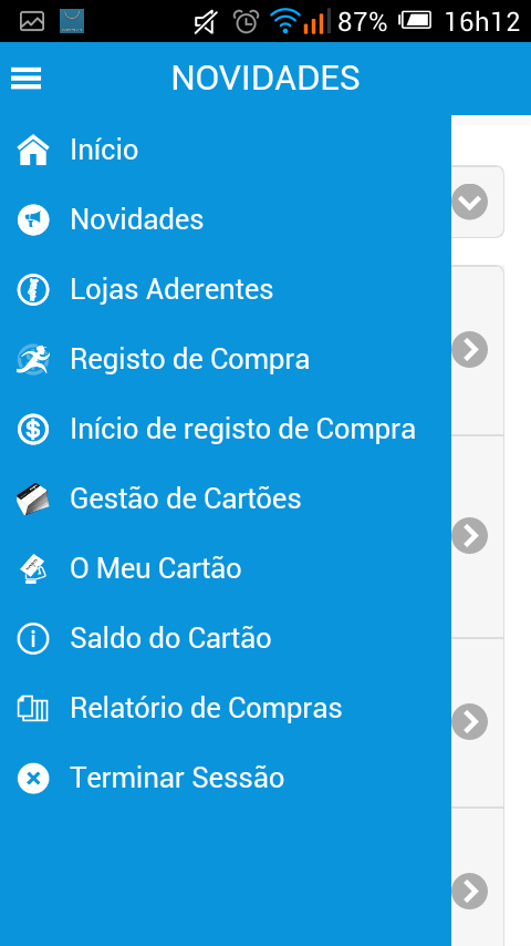 Cartão MGM Club- screenshot