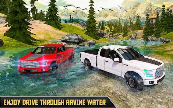 Offroad Pickup Truck Drive – 4x4 Car Simulator