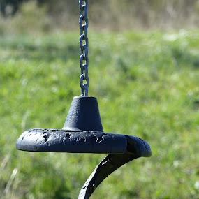 Seesaw by Francesco Altamura - Artistic Objects Other Objects ( enjoyment, park, chain, seesaw, fun,  )