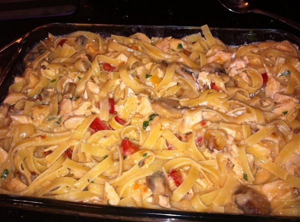 IN A BAKN DISH  (I USED A 7x11 DISH N WAS PERFECT -...