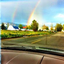 Photo: More on double rainbow #intercer - via Instagram, http://instagr.am/p/KPPeKOJfum/