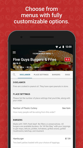 SkipTheDishes - Food Delivery  screenshots 3