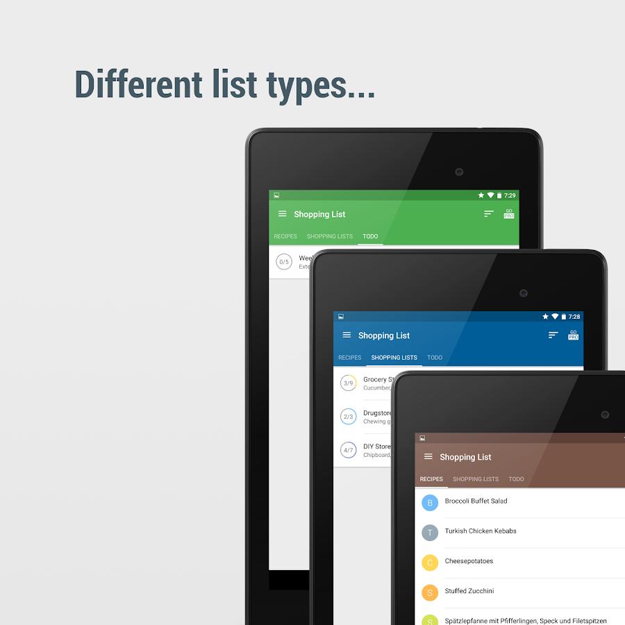 Shopping List - Pro- screenshot