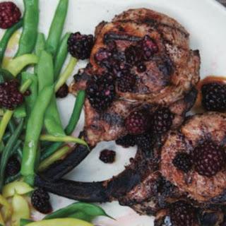 Cold Brine-Pickled Blackberries