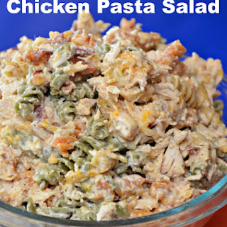 Cayenne Ranch Chicken Pasta Salad