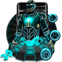 3D Neon Hero Theme icon