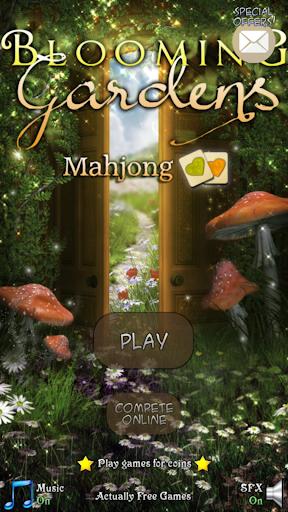 Hidden Mahjong Blooming Garden
