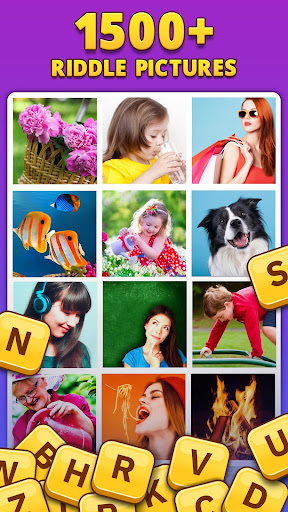 4 Pics 1 Word Pro - Pic to Word, Word Puzzle Game  screenshots 2