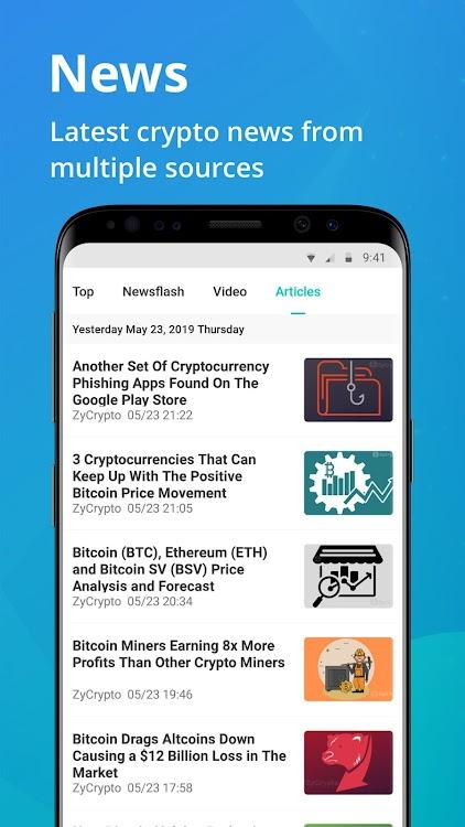 cryptocurrency portfolio app android