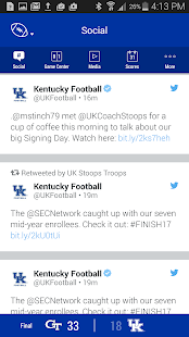 Kentucky Wildcats Gameday- screenshot thumbnail