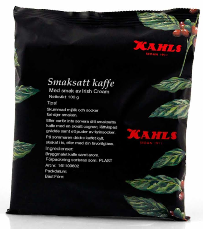Irish Cream, smaksatt kaffe – Kahls