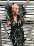 Nandi Madida at Afropunk Brooklyn.