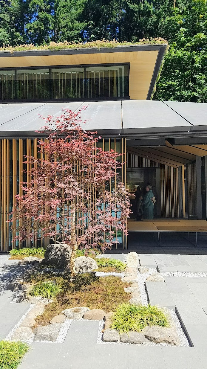 The new Cultural Crossing Village you can see while visiting the Portland Japanese Garden