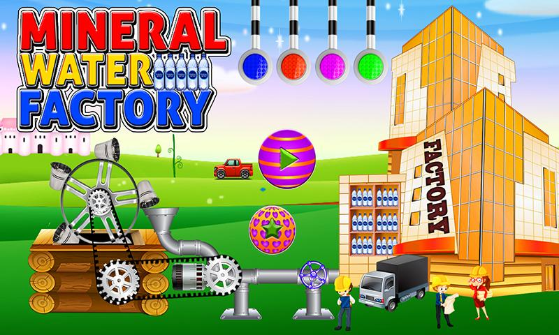 Mineral Water Factory Games: Adventure Simulator- screenshot
