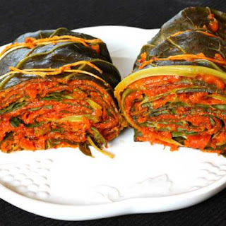 Patrado / Collard Leaves With Indian Twist
