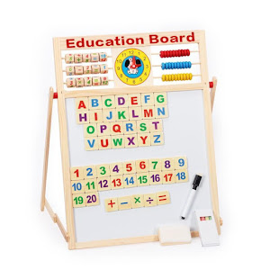 Tabla educativa multifunctionala pentru copii 40 x 40 cm