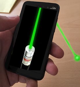 Simulator laser pointer screenshot 1