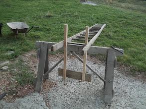 Photo: připravený žebřík