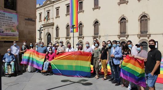 Reivindicación del colectivo LGTBI en el Día del Orgullo