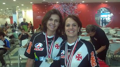 Photo: Léa Castro & Lúcia Vieira (OURO nas duplas femininas 1.ª divisão)