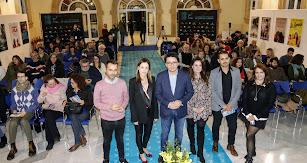 Actividad de Fical celebrada este lunes por la tarde en el Patio de Luces de Diputación.