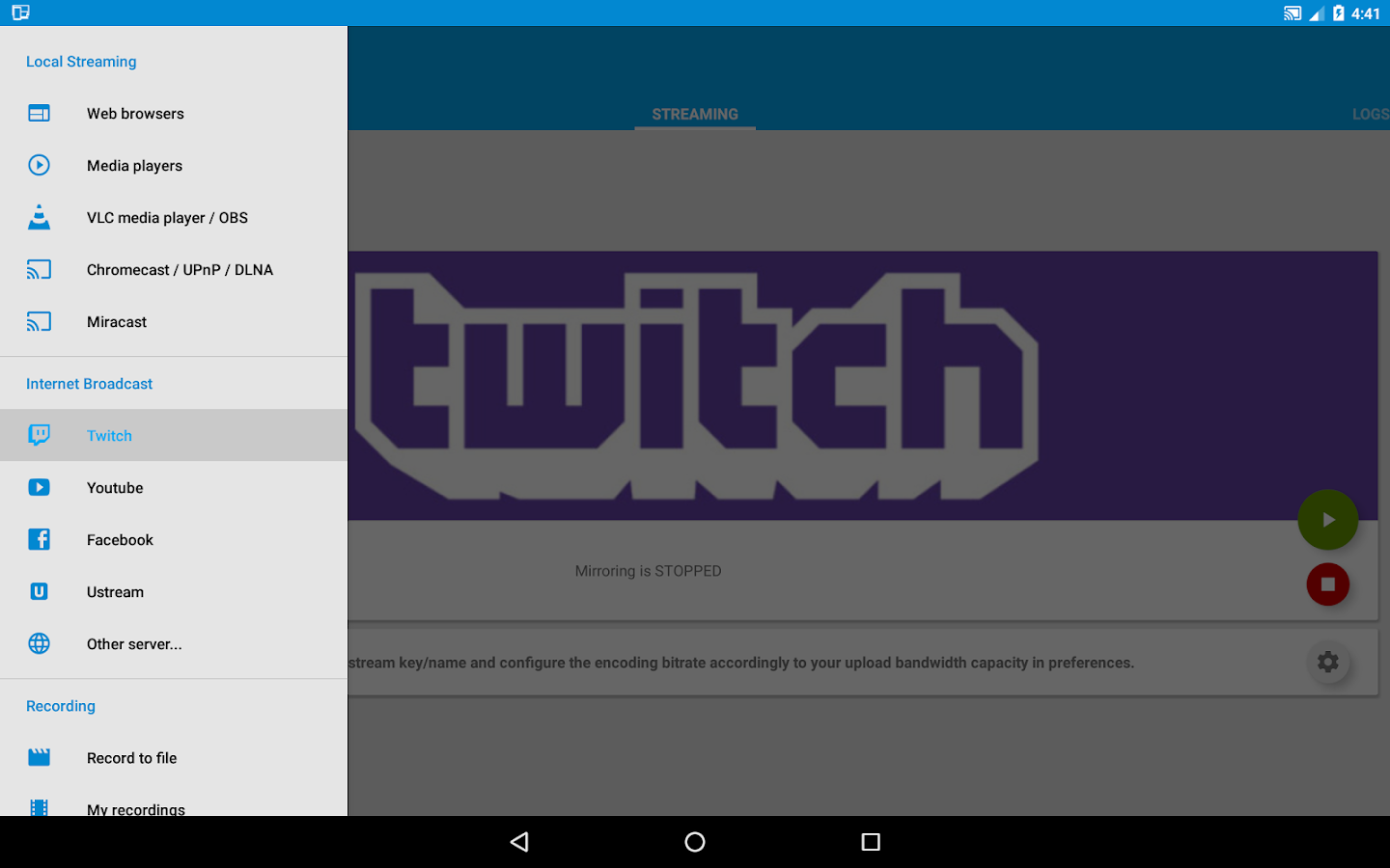 Screen Stream Mirroring Pro- screenshot