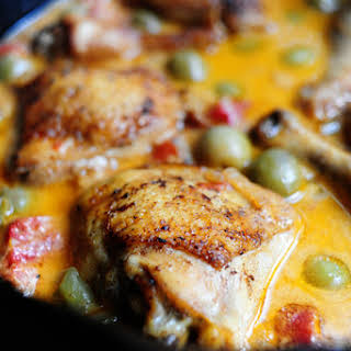 Chicken with Olives.