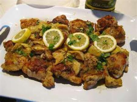 Herbed Artichoke Chicken Recipe