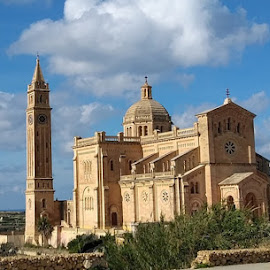 the ''Miracle Church '', by Ivor Evans - Buildings & Architecture Places of Worship ( mediterranean, island, church, architecture, religion )