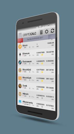 Crypto Currency & Bitcoin Calculator  screenshots 1