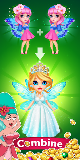 Fairy Merge - Click&Idle 1.0.5 screenshots 1