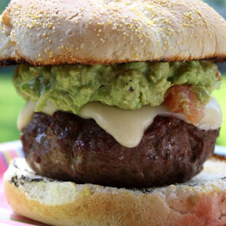 "Burgers with Guacamole aka ""The Beast"""