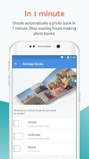 ReSnap - Photo Books, Easily Made In 1 Minute- screenshot thumbnail
