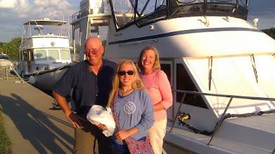 Photo: Jim, Kathy and Gail of Jim-O at Riverlink in Amsterdam, NY