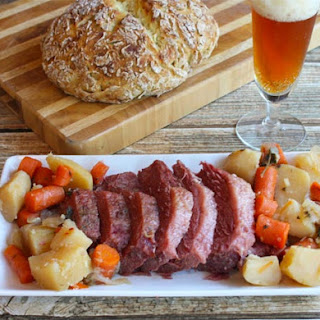 Corned Beef with Irish Soda Bread