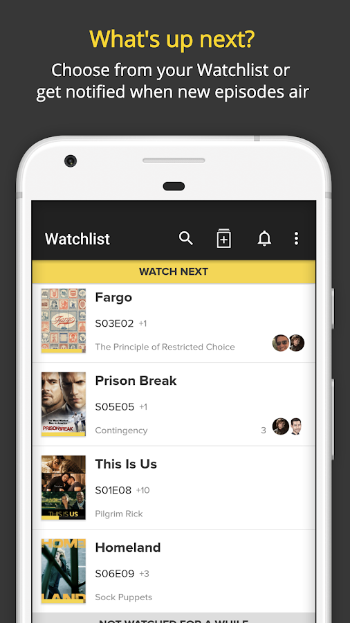 TV Time: TV Show Tracker- screenshot