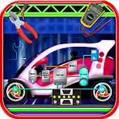 Electric Car Repairing - Auto Mechanic Workshop