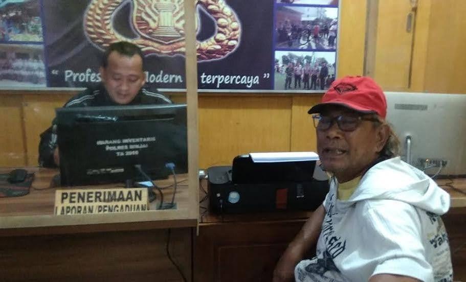 Rumah Orang Tua Wartawan di Binjai Dibakar Mafia Judi
